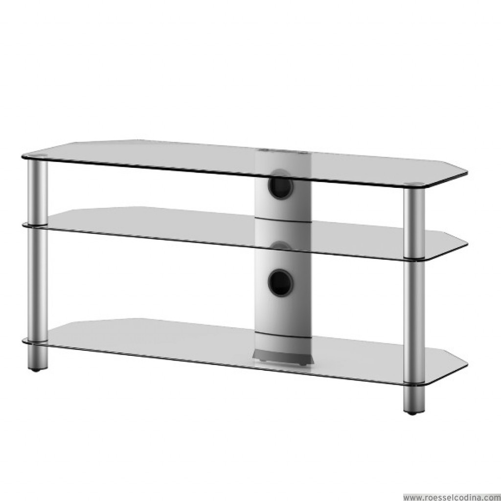 Roesselcodina product mueble tv de 3 estantes neo 3110 tg for Mueble 3 estantes