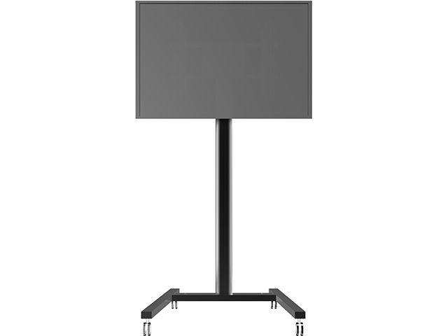 Peana TV DISPLAY STAND 180 N.(180 cms de altura). Negro.