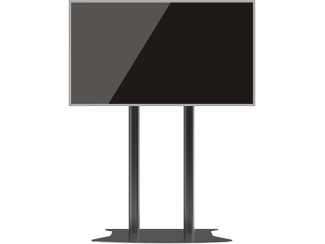 Peana TV DISPLAY STAND 210-Base (210 cms de altura). Negro. (PLAZO DE ENTREGA 20 DIAS)