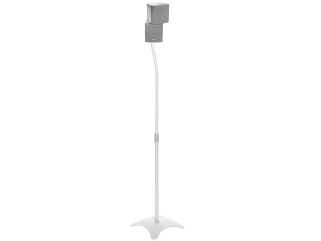 SPEAKERSTAND -  Pareja de soportes para altavoces surround. Color blanco.