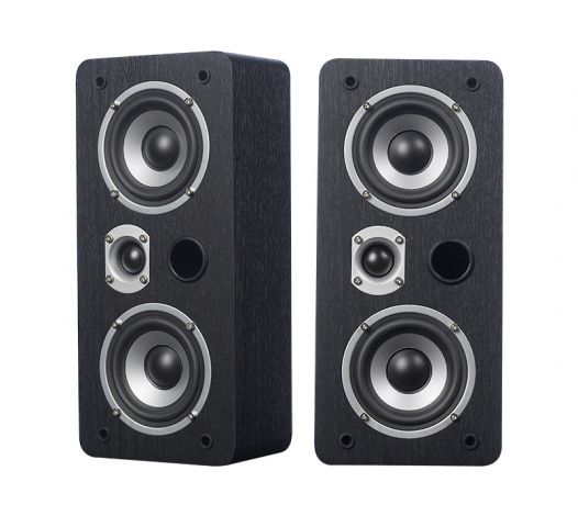 Altavoces de pared o techo MAGIC LCR-4 v.3. Negro.