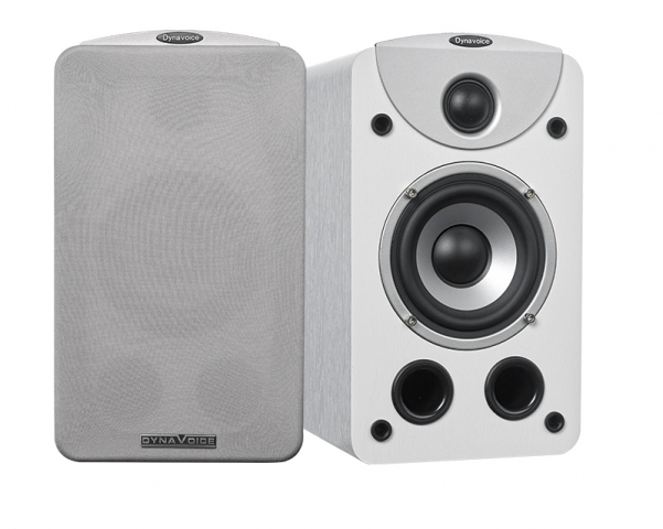 Altavoces de estantería MAGIC S-4 v.3. Blanco.