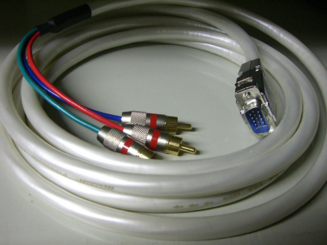 ROVGA-RGB - Cable VGA a Video-componentes 5,0 mts