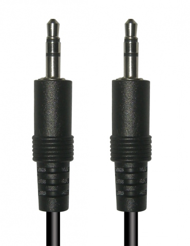 CTA6105 - CABLE JACK 3.5mm macho A JACK 3.5mm macho STEREO 5,0 mts