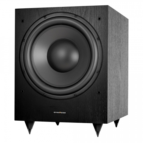 "Subwoofer amplificado de 12"" MAGIC MW12. Negro."