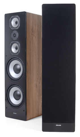 Altavoces de suelo CHALLENGER M-105 v.4. Roble natural.