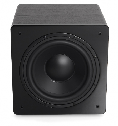 Subwoofer amplificado CHALLENGER SUB-10-Negro.