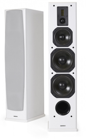 Altavoces de suelo DEFINITION DF-8. Blanco.