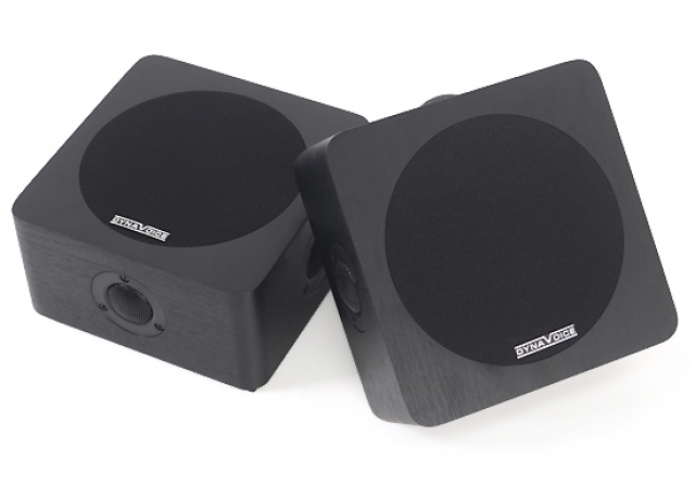Altavoces de pared o techo MAGIC Around5 Negro.