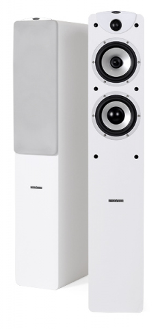 Altavoces de suelo MAGIC F-5 v.3. Blanco.