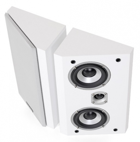 Altavoces de estantería o de pared FX-4 v.3. Blanco.