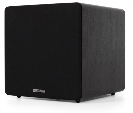 "Subwoofer amplificado de 8"" MAGIC SUB-8N. Negro."