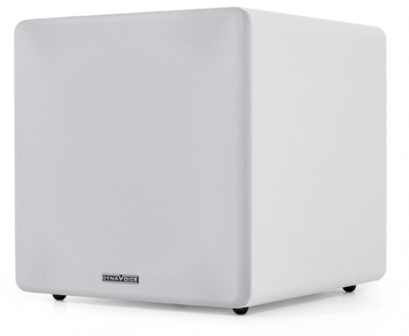 "Subwoofer amplificado de 8"" MAGIC SUB-8W. Blanco."